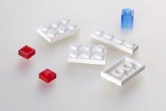 Blokcs di Lego Immagini Stock Libere da Diritti