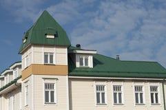 Blokhuis stock afbeelding
