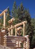 Blokhuis dat wordt gebouwd Stock Afbeeldingen