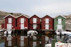 Blokhuizen bij de kust, Panhandle, Florida, de V Royalty-vrije Stock Afbeelding