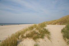 Blokhus strand Royaltyfria Foton
