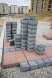 Bloki dla bruku Zdjęcia Stock