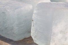 Bloki lód Zdjęcia Stock