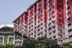 Bloki Mieszkaniowi w Singapur Zdjęcia Royalty Free