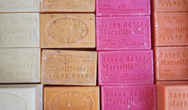 Bloki mydło Marseille zdjęcie royalty free