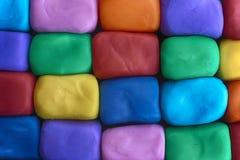 Bloki robić z plasteliny Obraz Stock