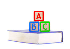 Blokken ABC Royalty-vrije Stock Foto's