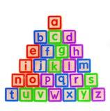 Blokken ABC Royalty-vrije Stock Foto