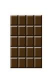 Blokken van chocolade Royalty-vrije Stock Foto