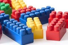 Blokken voor kinderen Royalty-vrije Stock Foto's