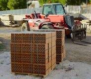 Blokkenbakstenen Stock Foto