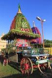 Blokkenwagen van Lord Jagannath Royalty-vrije Stock Fotografie