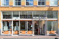 Blokker-Niederlassung im Stadtzentrum des Goudas, die Niederlande Stockfoto