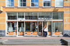 Blokker-Niederlassung im Stadtzentrum des Goudas, die Niederlande Stockfotografie