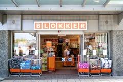 Blokker-Niederlassung im Winkelcentrum Leidsenhage, die Niederlande Lizenzfreies Stockbild