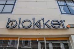 Blokkeropslag bij Weesp-Nederland Royalty-vrije Stock Foto's