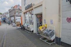Blokkeropslag bij Weesp-Nederland Stock Foto's