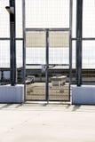 blokować zamknięte bramy Obrazy Royalty Free