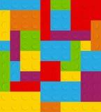 Blokowa bezszwowa deseniowa wektorowa ilustracja Zdjęcie Royalty Free