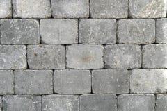 blokowa granitowa szorstka ściana Obraz Royalty Free