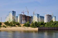 blokowi budynków budowy mieszkania Obrazy Royalty Free