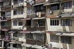blokowy budynki mieszkalne Zdjęcia Royalty Free