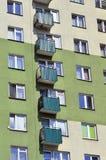 blokowy fasadowy Poland Zdjęcia Stock