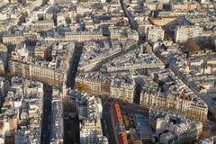 blokowy miasto Paris Obraz Royalty Free
