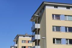 blokowy mieszkań vertical widok Fotografia Royalty Free