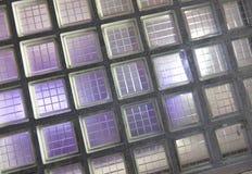 blokowy szkło Obrazy Stock