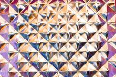 blokowy szklany multicolor Obrazy Stock