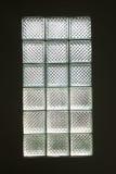 blokowy szklany oświetleniowy pokój Zdjęcia Royalty Free