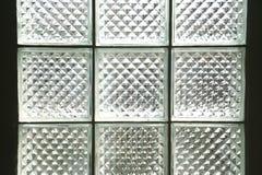 blokowy szklany oświetleniowy pokój Obrazy Royalty Free