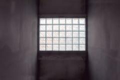 blokowy szklany oświetleniowy pokój Zdjęcie Royalty Free