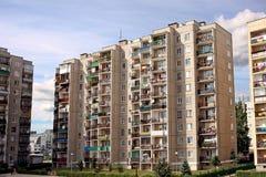 Bloks of flats Stock Photography