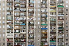 Bloks of flats Royalty Free Stock Photo