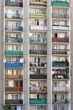 Bloks of flats Stock Image