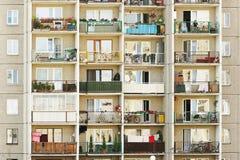 Bloks of flats Royalty Free Stock Image