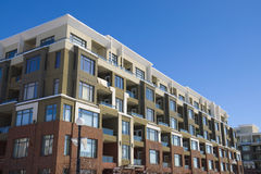 bloku mieszkaniowy budynku mieszkania Fotografia Royalty Free