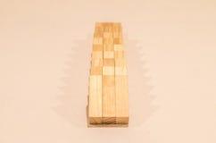 blokuje drewniany Obraz Royalty Free