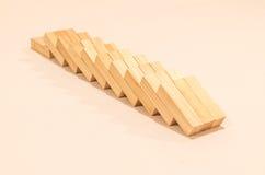 blokuje drewniany Zdjęcia Stock