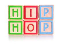 blokuje hip hop obraz stock