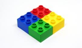 blokuje kolorowego lego obrazy royalty free