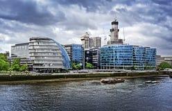 blokuje miasta korporacyjnego sala London biuro Zdjęcie Stock
