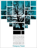 blokuje teksta drzewa Obraz Royalty Free