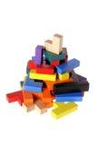 bloków target1508_1_ drewniany Obraz Royalty Free
