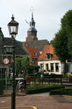 Blokzijl â malerische kleine Häuser. Die Niederlande Lizenzfreie Stockbilder