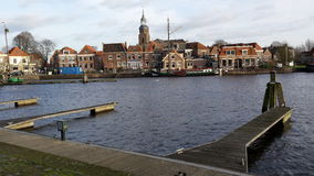 Blokzijl, Nederland royalty-vrije stock fotografie