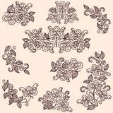 blom- vektor illustrationer