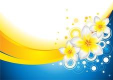 blom- abstrakt bakgrund Royaltyfria Bilder